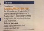 Corriere del Mezzogiorno - 30/07/2014