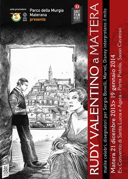 Rodolfo Valentino a Matera