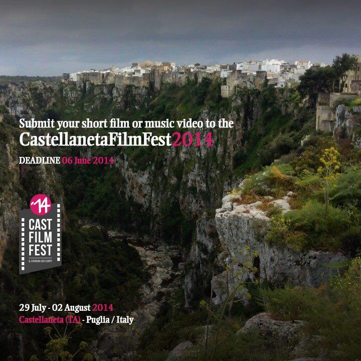 Iscrizioni al Castellaneta Film Fest 2014