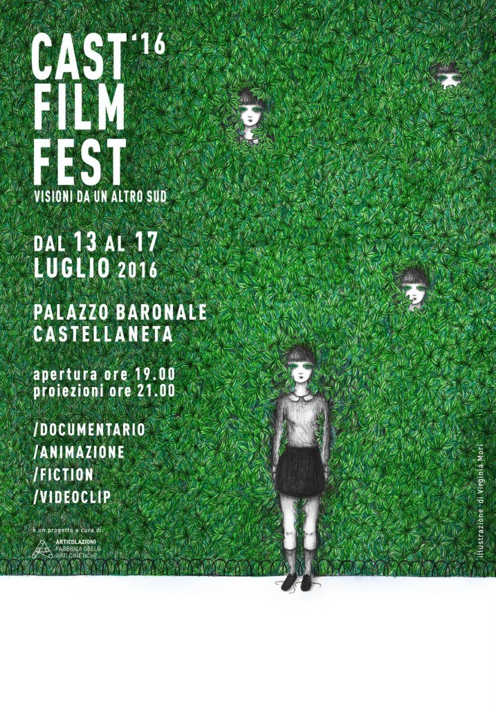 Castellaneta Film Fest - Manifesto 2016 / Virginia Mori
