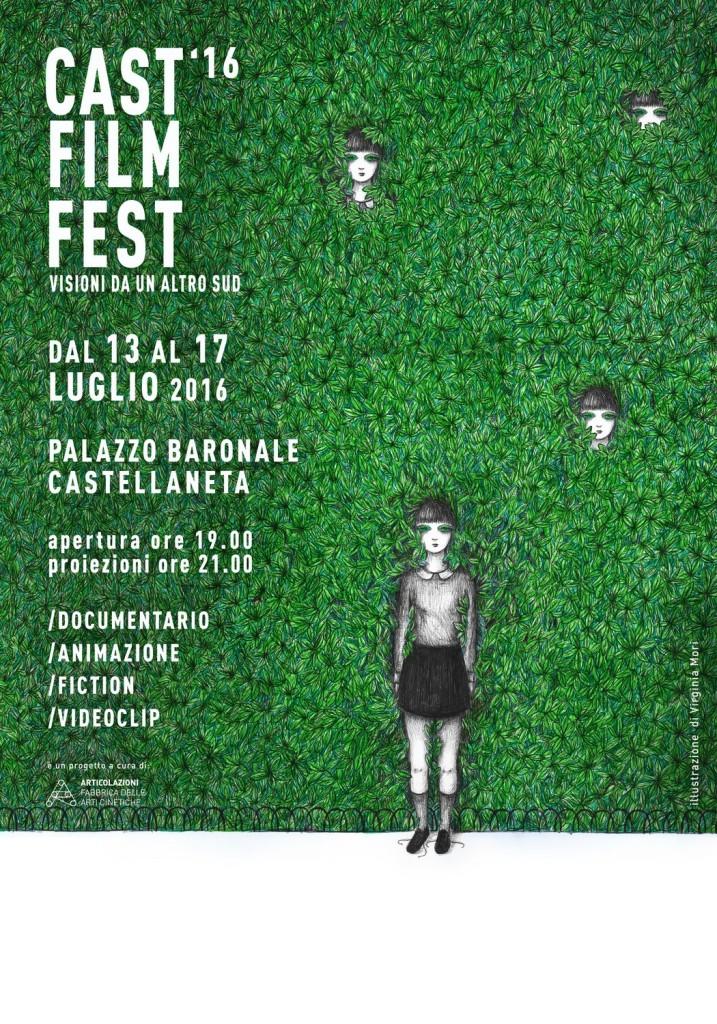 Castellaneta Film Fest - Manifesto 2016 / Virginia Mori